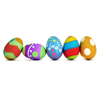 Easter Eggs PNG - 8513