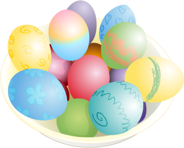 Easter Eggs PNG - 8514