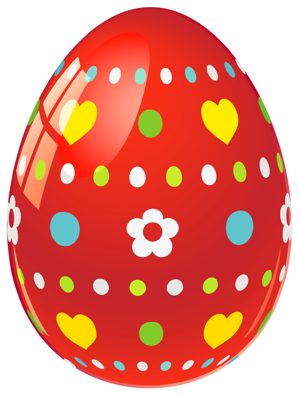 Pastel Easter Egg Clipart Easter - Easter Eggs PNG