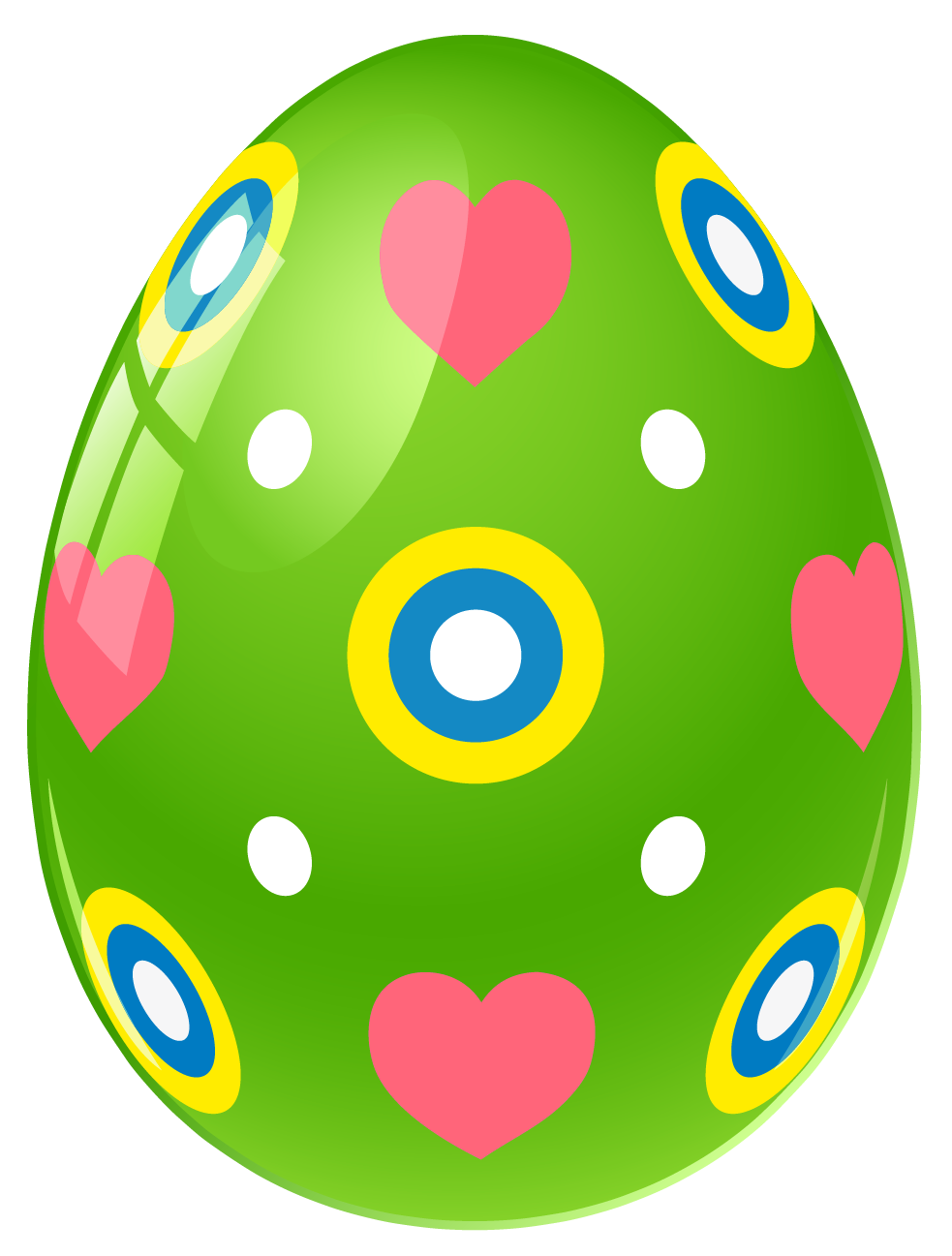 Purple Dotted Easter Egg PNG Clipart