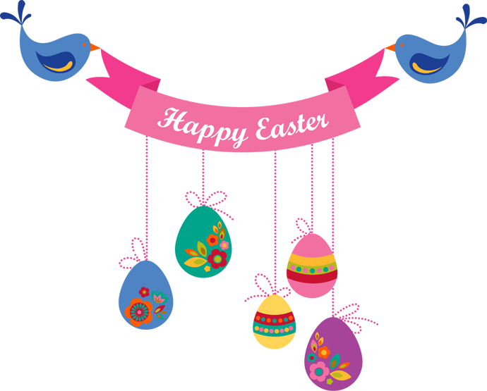 Balloons Happy Easter HD Wallpaper - Easter HD PNG