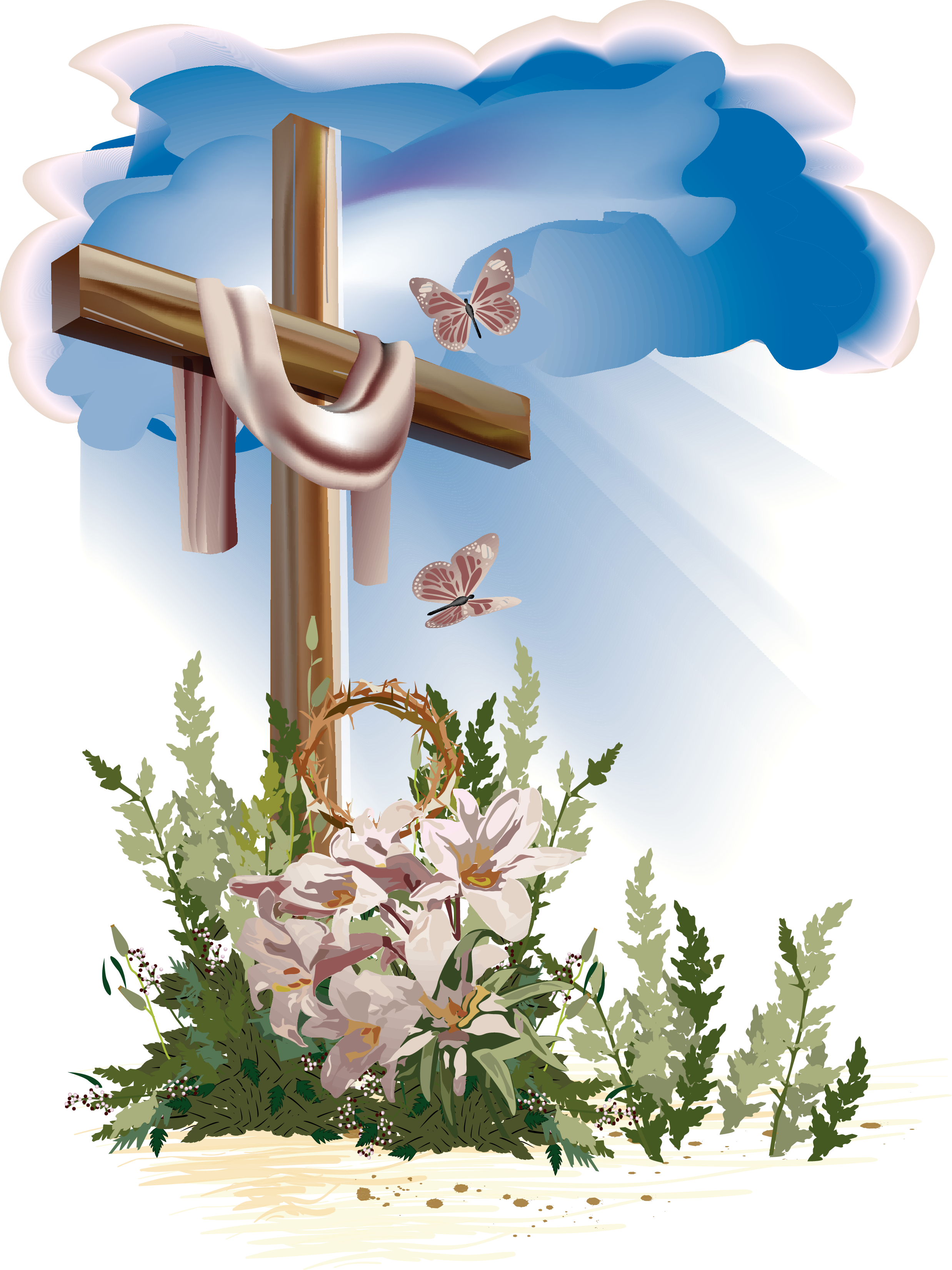 Christian Easter PNG HD - Easter HD PNG