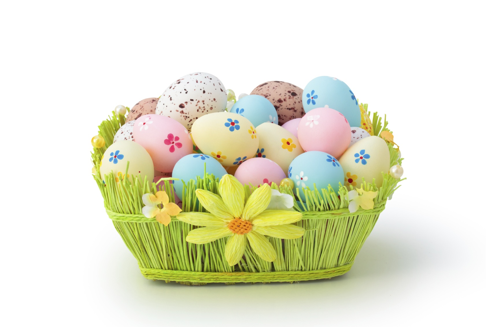 Easter basket - Easter HD PNG