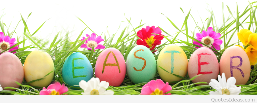 . PlusPng.com Happy_easter_background Happy-easter-easter-eggs-facebook-timeline-cover  PlusPng.com  - Easter HD PNG