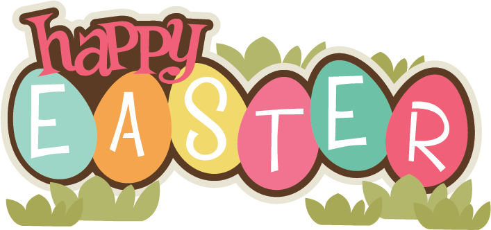 Happy Easter Clip Art Happy Easter Transparent Clipart 2 Clipartbarn Ideas - Easter Sunday PNG