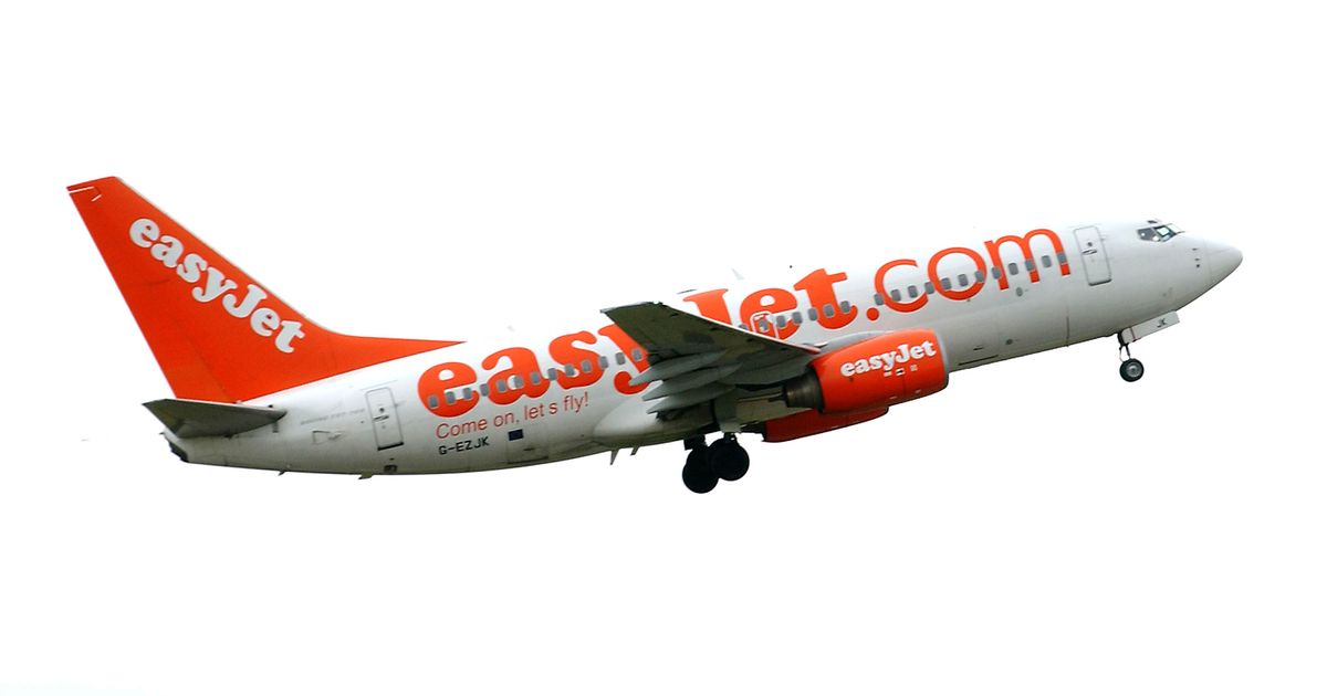 Emergency declared on Easyjet flight from London to Edinburgh - Daily Record - Easyjet Logo PNG