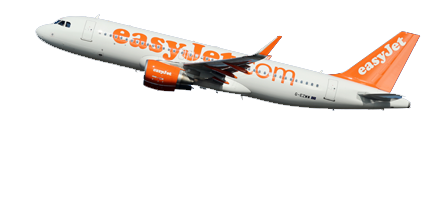 airline - Easyjet PNG