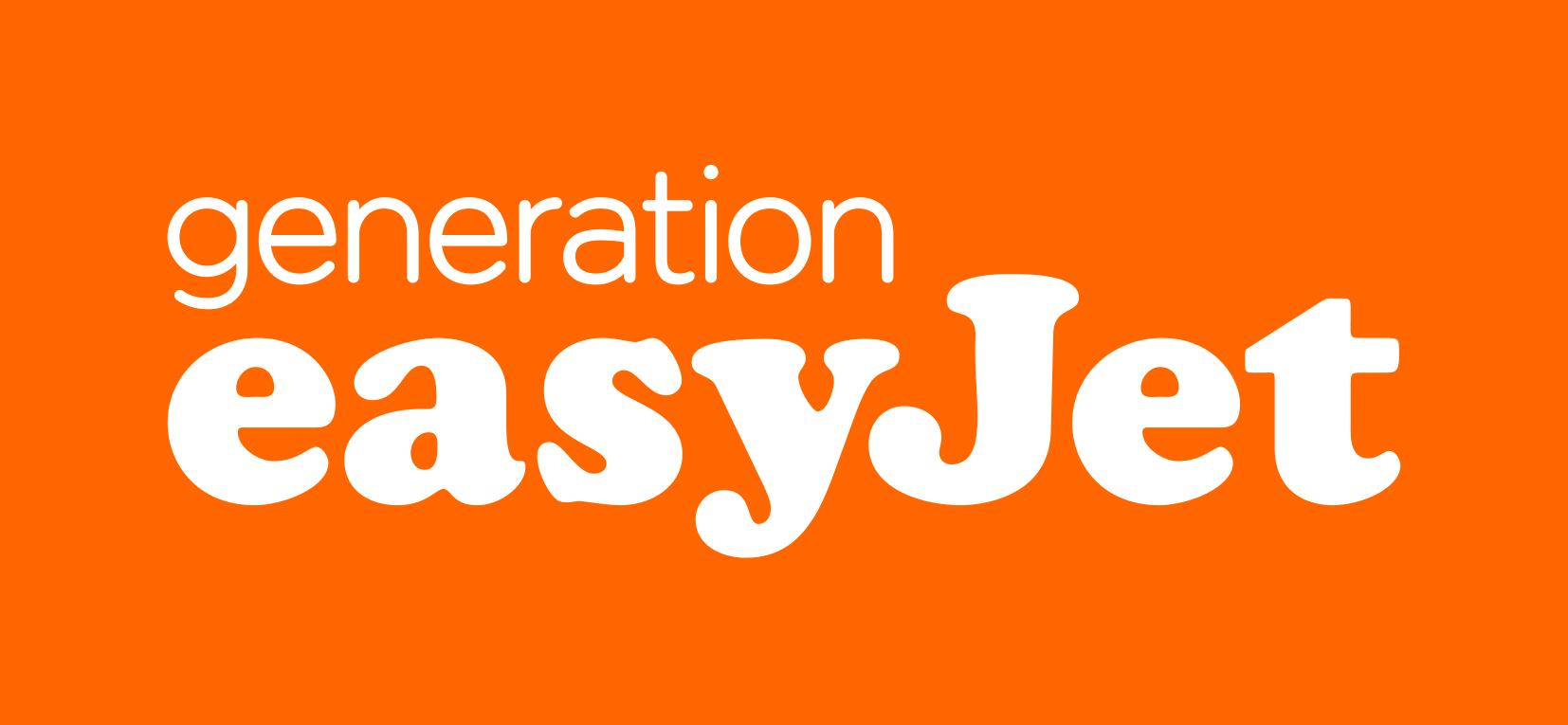 easyJet-generation-orange-RGB PlusPng.com  - Easyjet PNG