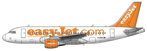 Easyjet PNG - 30081