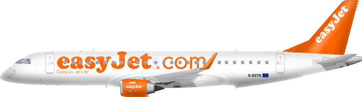 Linky do East Midlands, Newcastlu, Dortmundu, Basileje, Ženevy.Na  fly4less.cz můžete rezervovat letenky easyjet online. - Easyjet PNG
