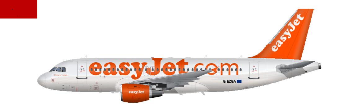 Easyjet PNG - 30094