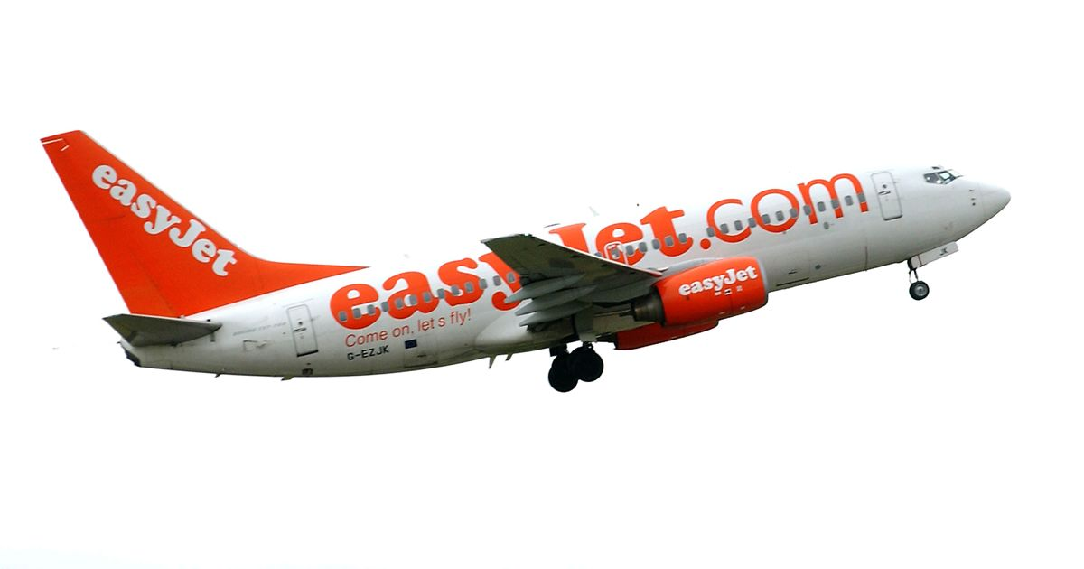 Terror on EasyJet holiday flight from Edinburgh as man claims to have gun  forcing plane into emergency landing - Mirror Online - Easyjet PNG
