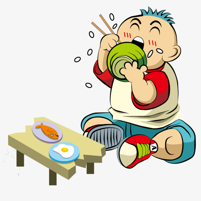 Boy eating, Boy, Eat, Lunch PNG and Vector - Eat Lunch PNG