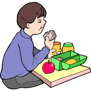 Boy Eating Lunch clipart, cliparts of Boy Eating Lunch free download (wmf,  eps, emf, svg, png, gif) formats - Eat Lunch PNG
