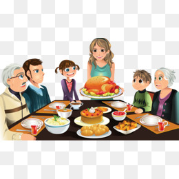 Eat a family, Hand Painted, Dining Table, Eat PNG Image and Clipart - Eat Lunch PNG