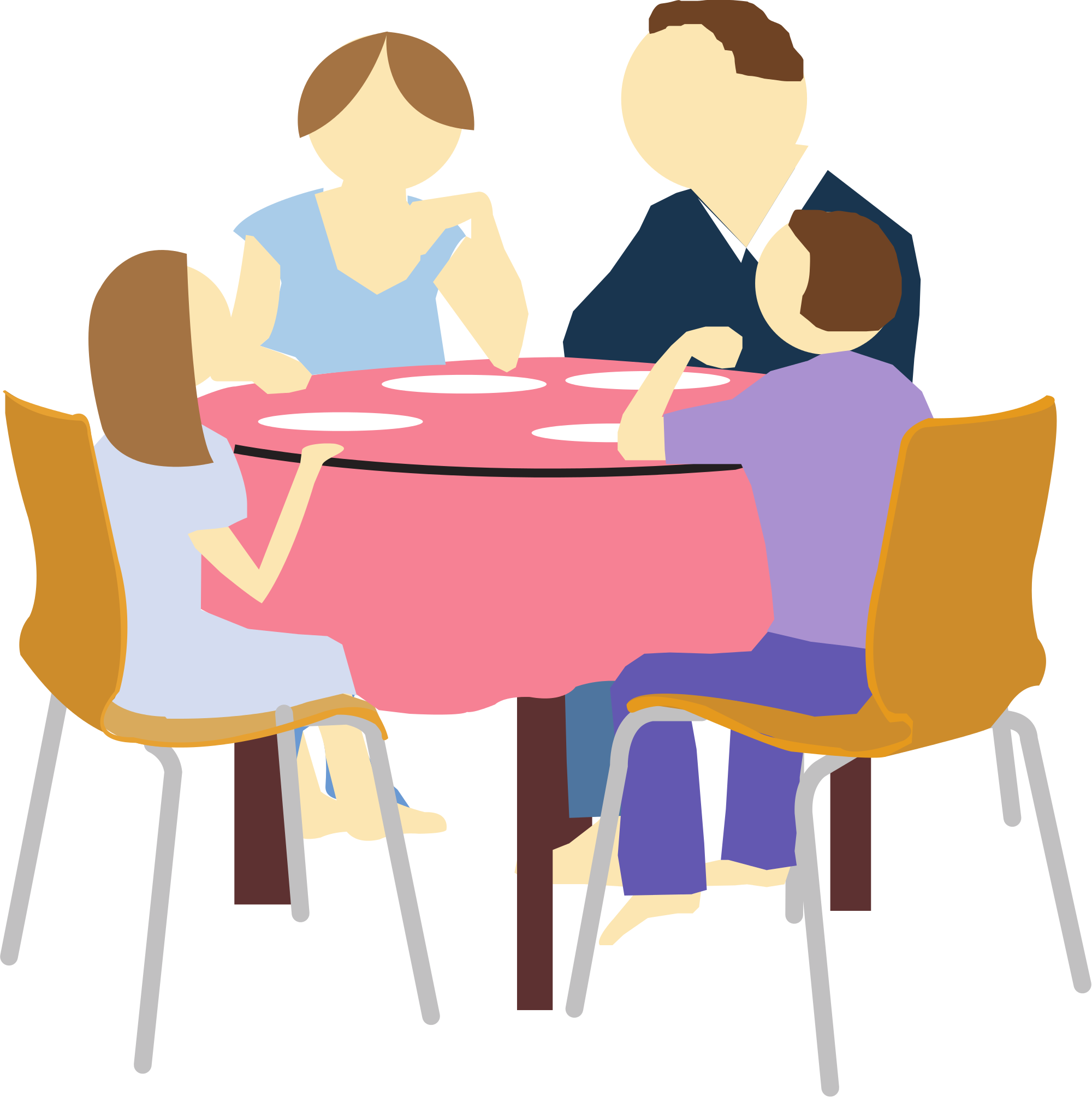 Eating Clipart PNG Image - Eat Lunch PNG