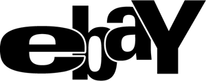 ebaY black Logo Vector - Ebay Logo Vector PNG