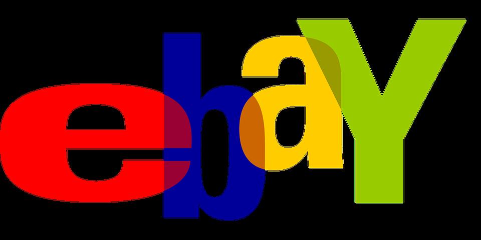 Ebay, Brand, Website, Logo, Online Shopping, Auction - Ebay Vector PNG