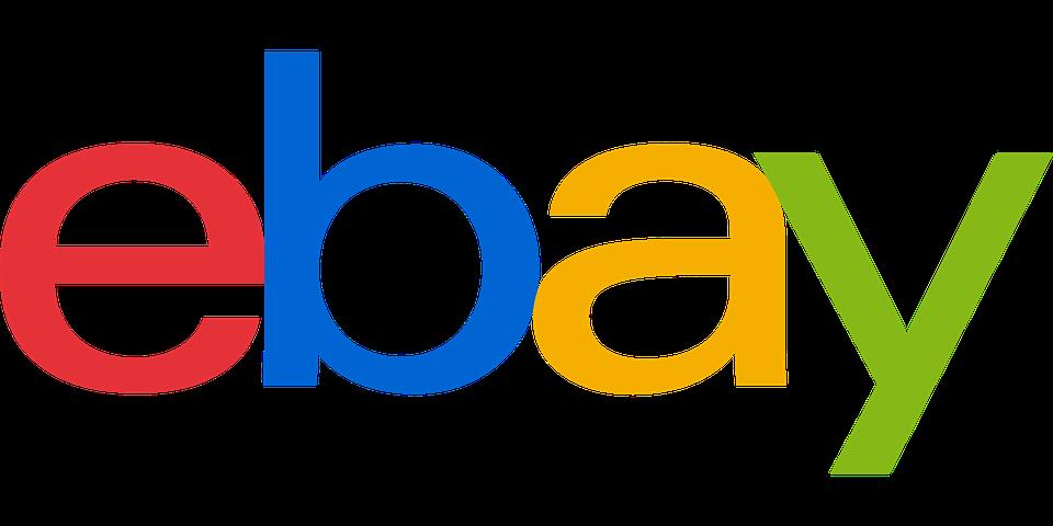 Ebay, Logo, Brand, Website, Online Shopping, Auction - Ebay Vector PNG