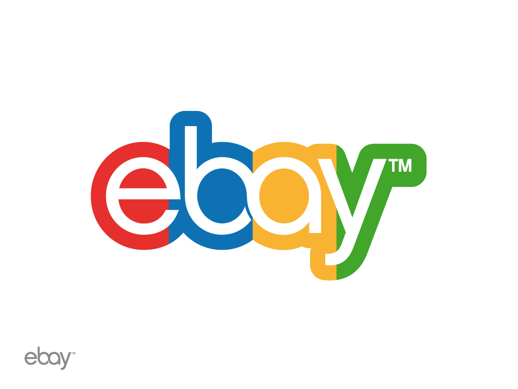 Ebay icon vector