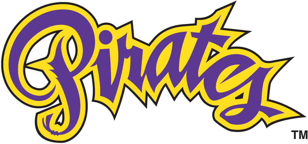 East Carolina Pirates Wordmark Logo - NCAA Division I (d-h) (NCAA d-h . - Ecu Pirates PNG