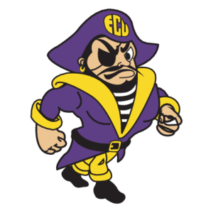 Free Vector Logo ECU Pirates(90) - Ecu Pirates PNG