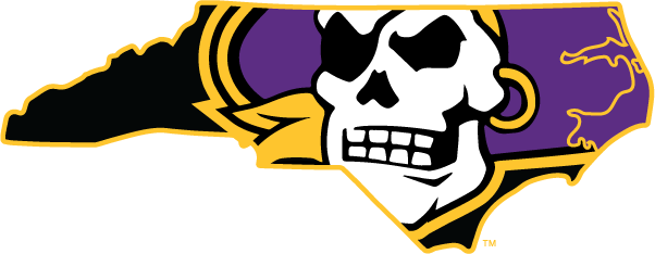ECU Pirates Logo Layered SVG