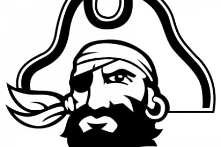 . PlusPng.com pittsburgh pirate clip art black and white uk da PlusPng.com  - Ecu Pirates PNG
