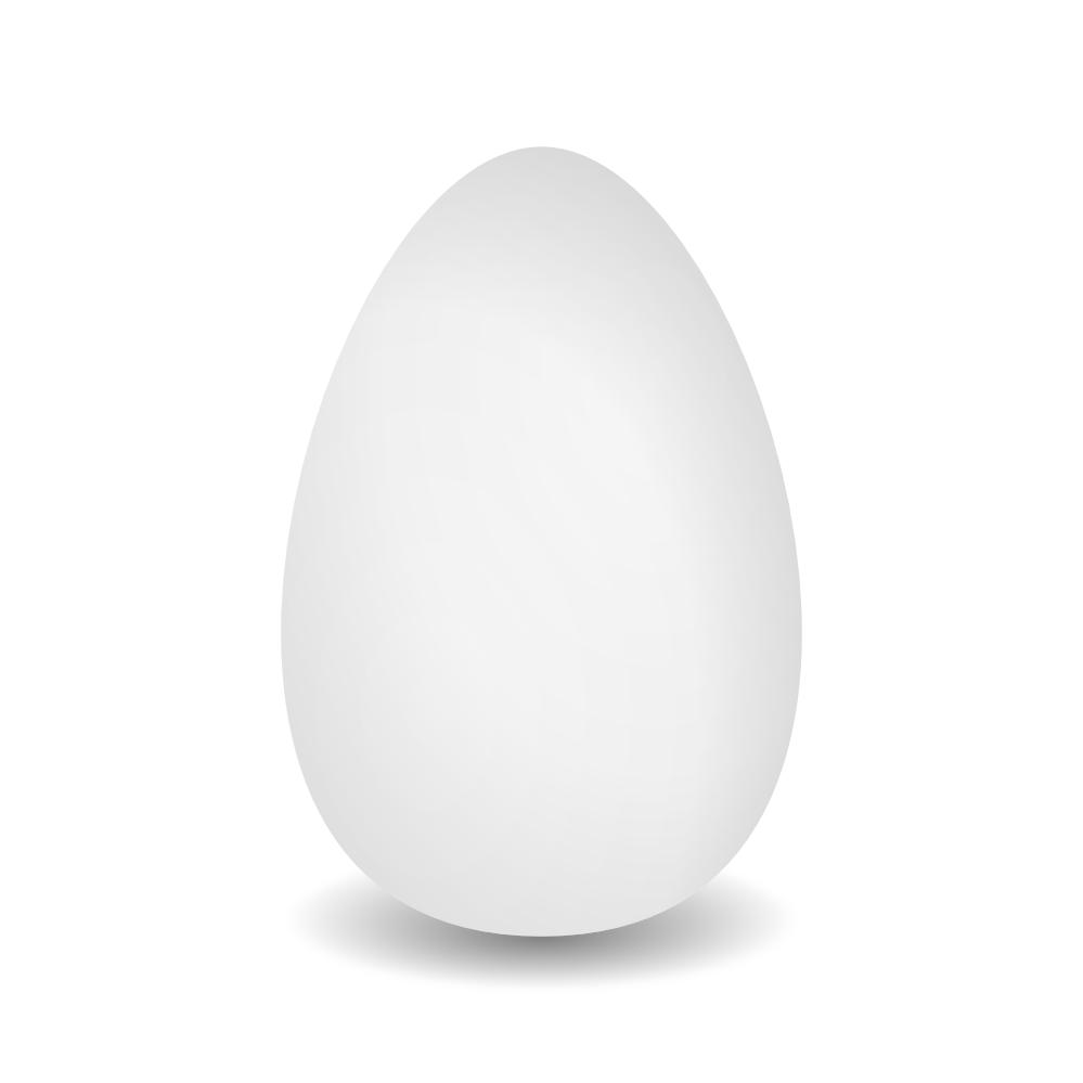 . PlusPng.com Egg Black White 999px.png 42(K) PlusPng.com  - Egg PNG