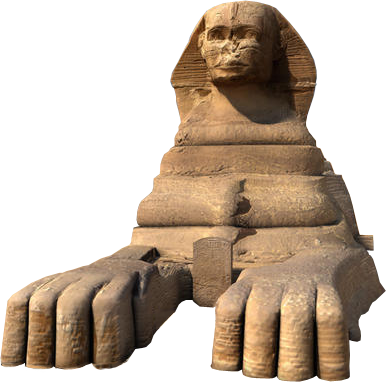 Egyptian Sphinx PNG-PlusPNG.com-386 - Egyptian Sphinx PNG