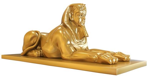 Egyptian Sphinx PNG-PlusPNG.com-600 - Egyptian Sphinx PNG