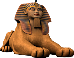 Ancient Egyptian Newsletter - Egyptian Sphinx PNG