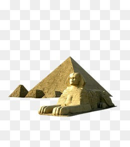 Egyptian Pyramids, Egyptian Pyramids, Sphinx PNG Image - Egyptian Sphinx PNG