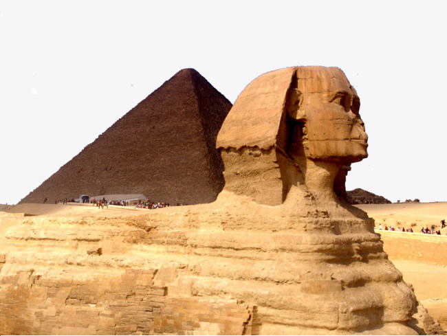 Egyptian Pyramids, Soil, Egypt, Pharaoh PNG Image - Egyptian Sphinx PNG