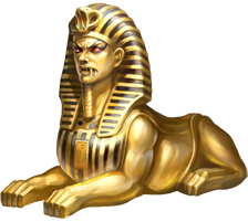 File:Golden Sphinx.png - Egyptian Sphinx PNG