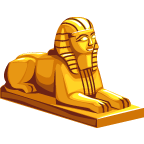 File:TreasuresEgypt Sphinx-icon.png - Egyptian Sphinx PNG