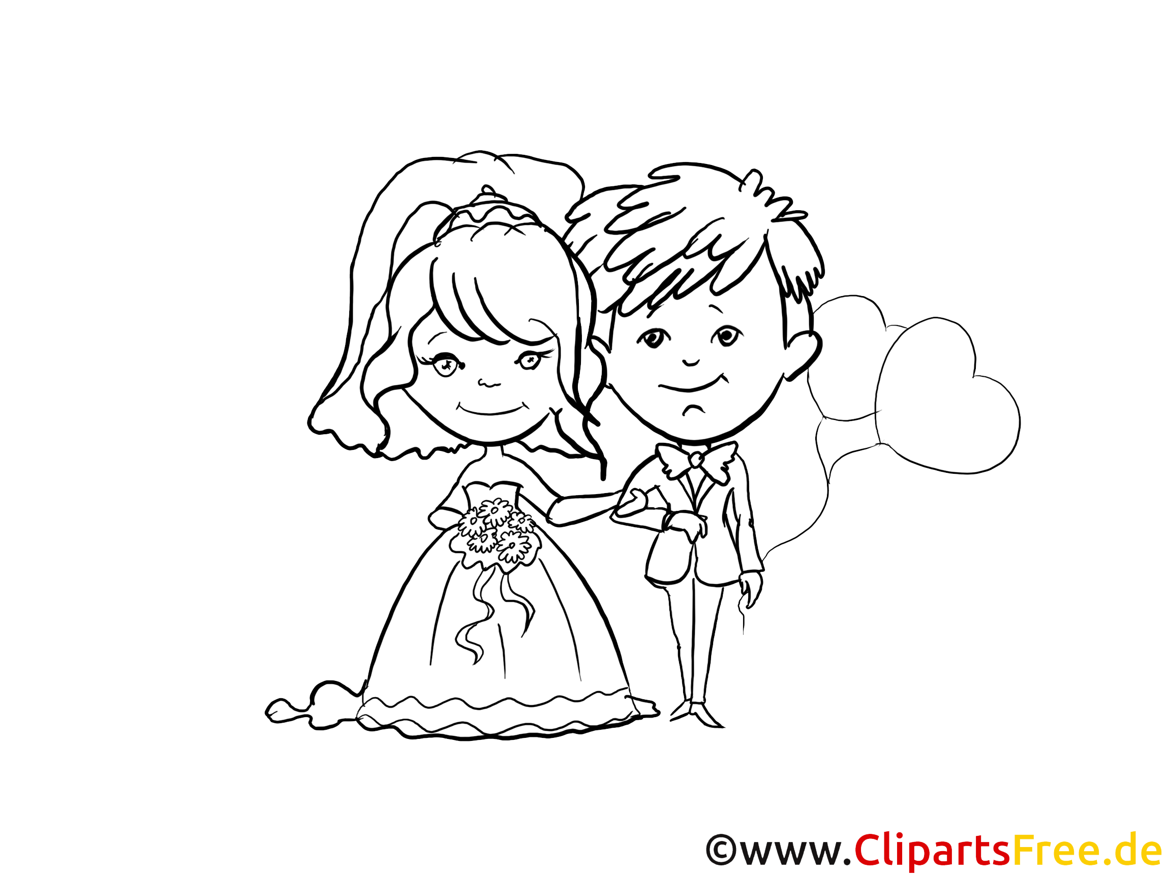 Ehepaar Hochzeit PNG-PlusPNG.