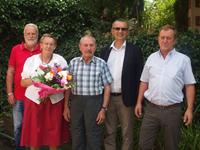 Ehepaar Miloczki feiert Golde