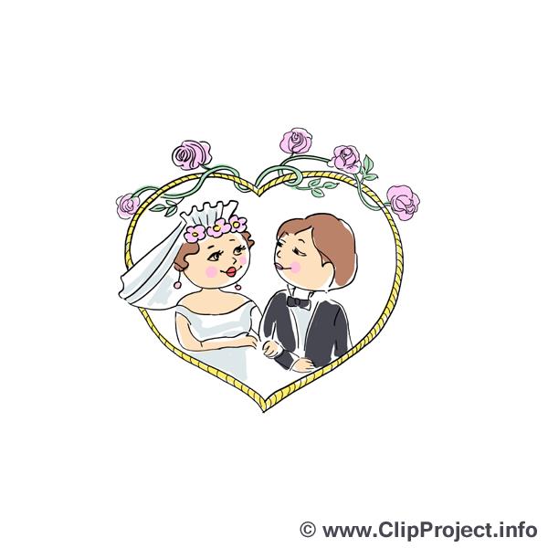 Hochzeit Clipart für Einladu