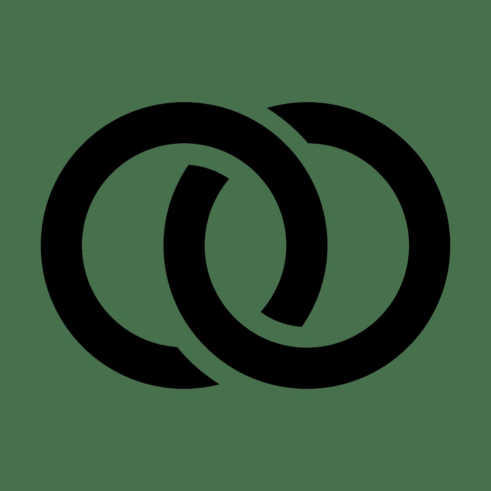 Eheringe Icon - Eheringe Symbol PNG