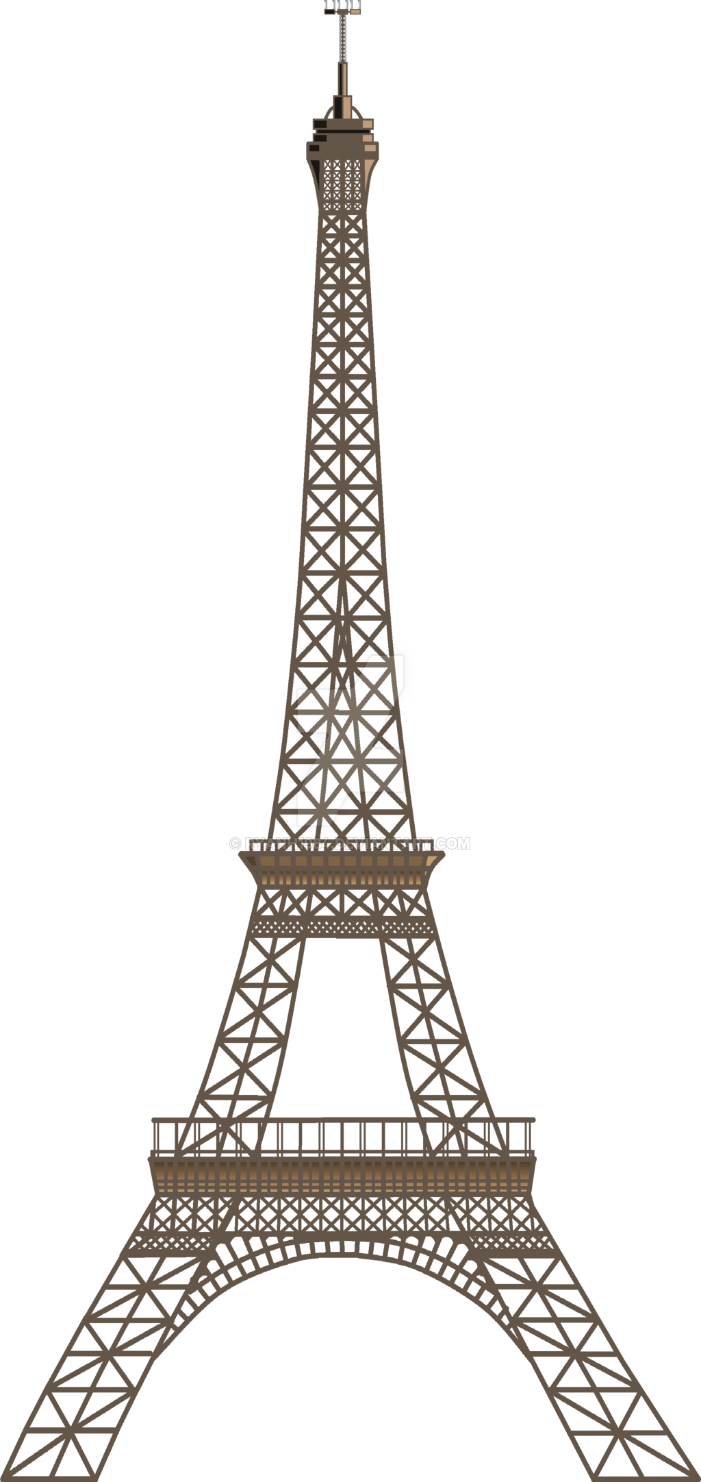 Eiffel Tower PNG - 17020