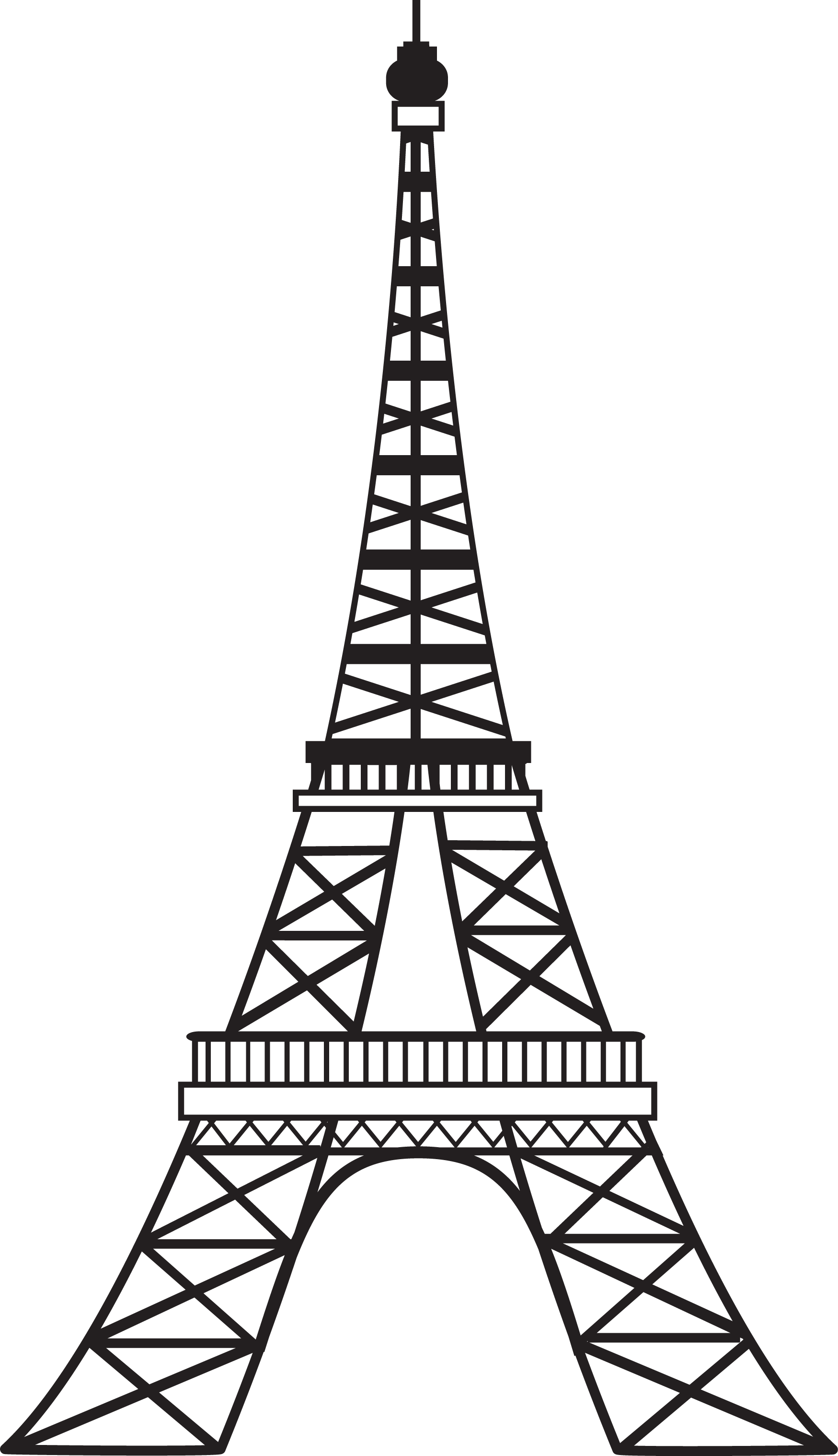 Eiffel Tower PNG - 17019