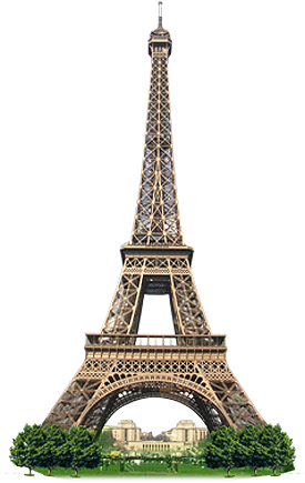 Eiffel Tower PNG - 17018