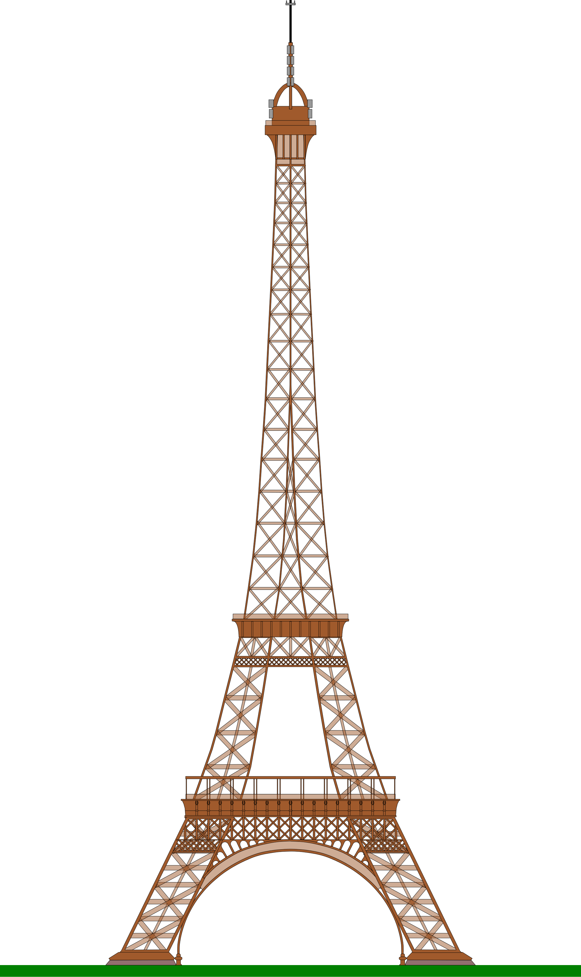 Eiffel Tower PNG - 17031