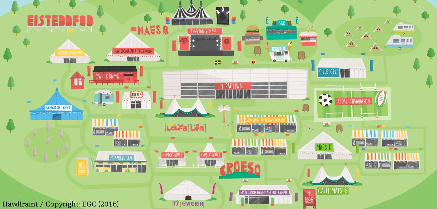 Eisteddfod Drama Village Sche
