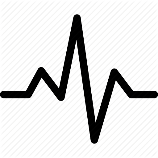 activity, beat, cardio, ecg, ekg, heart, heartbeat, pulse icon - Ekg PNG