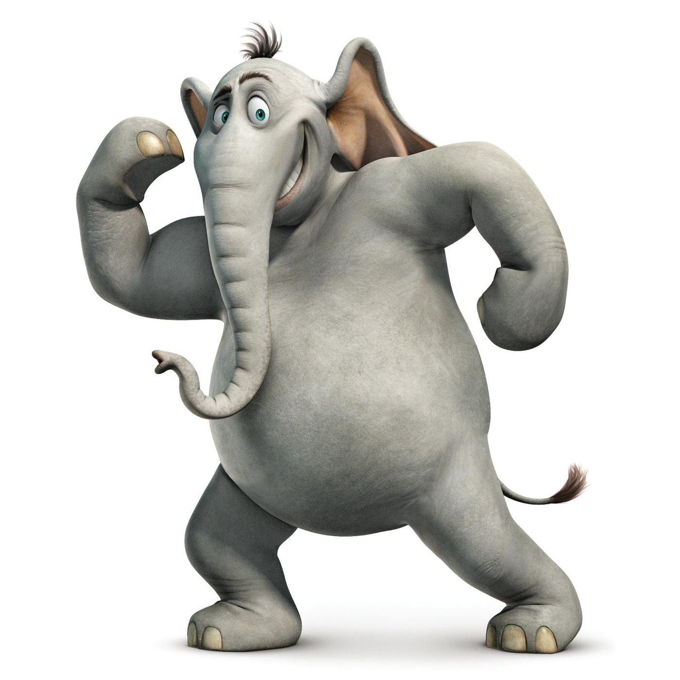 Horton-the-Elephant.png - Elephant PNG