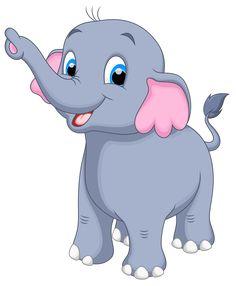 Little Elephant PNG Clipart Image - Elephant PNG