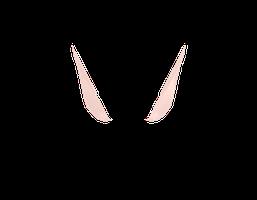 FAIRY EARS with bones by vladanor - Elf Ears PNG