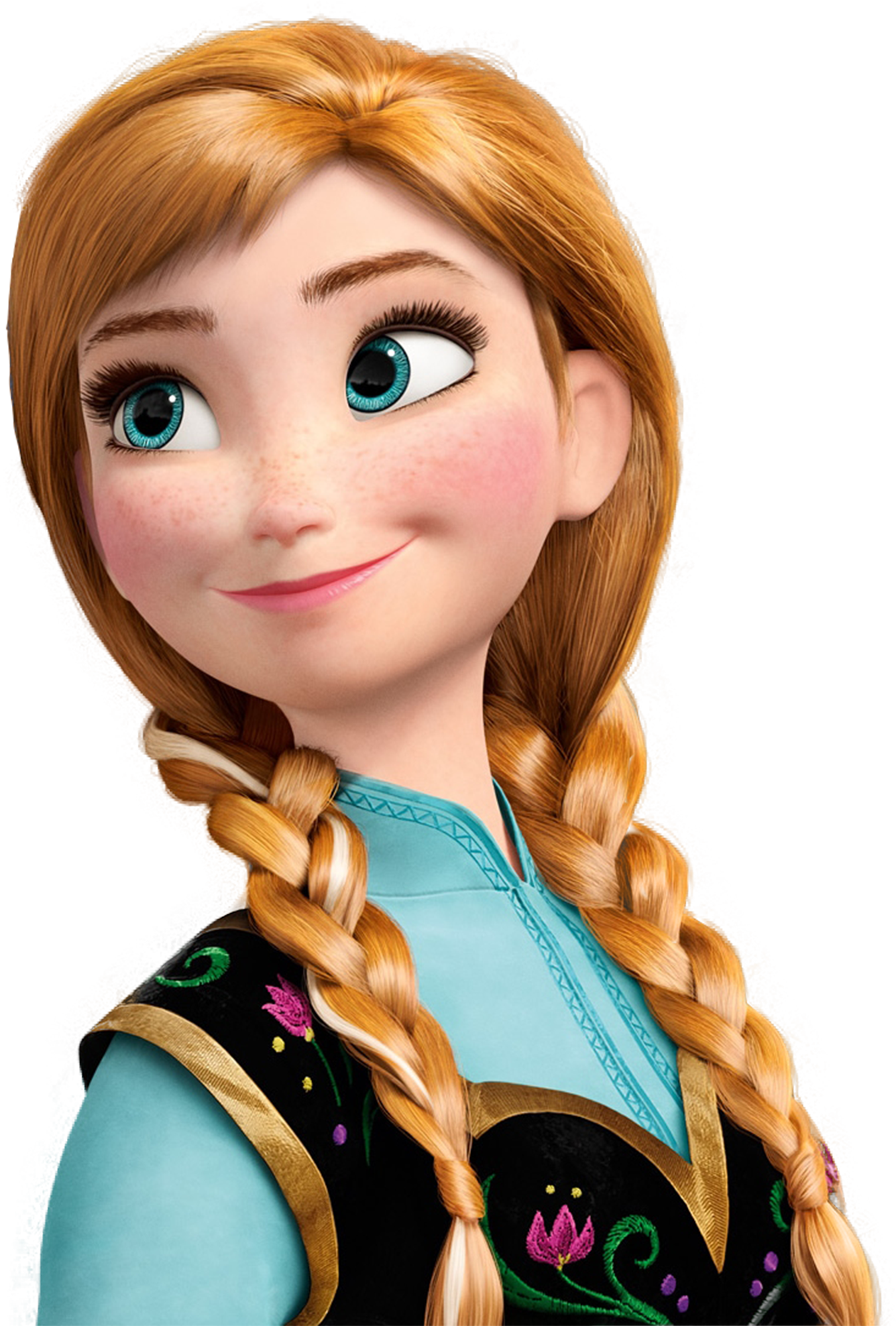 Anna - Elsa And Anna PNG